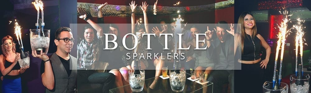 bottle sparkler banner
