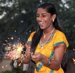 Bring joy to Diwali with sparklers