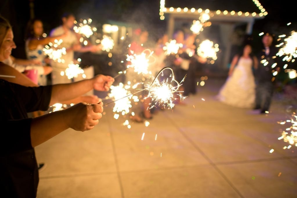 Wedding Heart sparklers