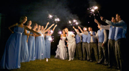 Wedding Sparkler Group