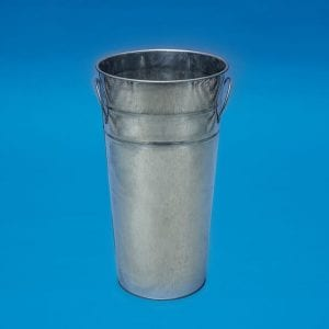 "15"" Galvanized Metal Bucket"